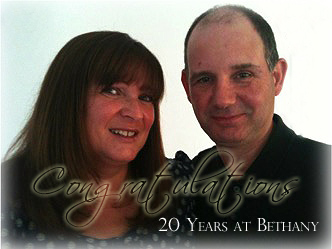John and Christine 20 years