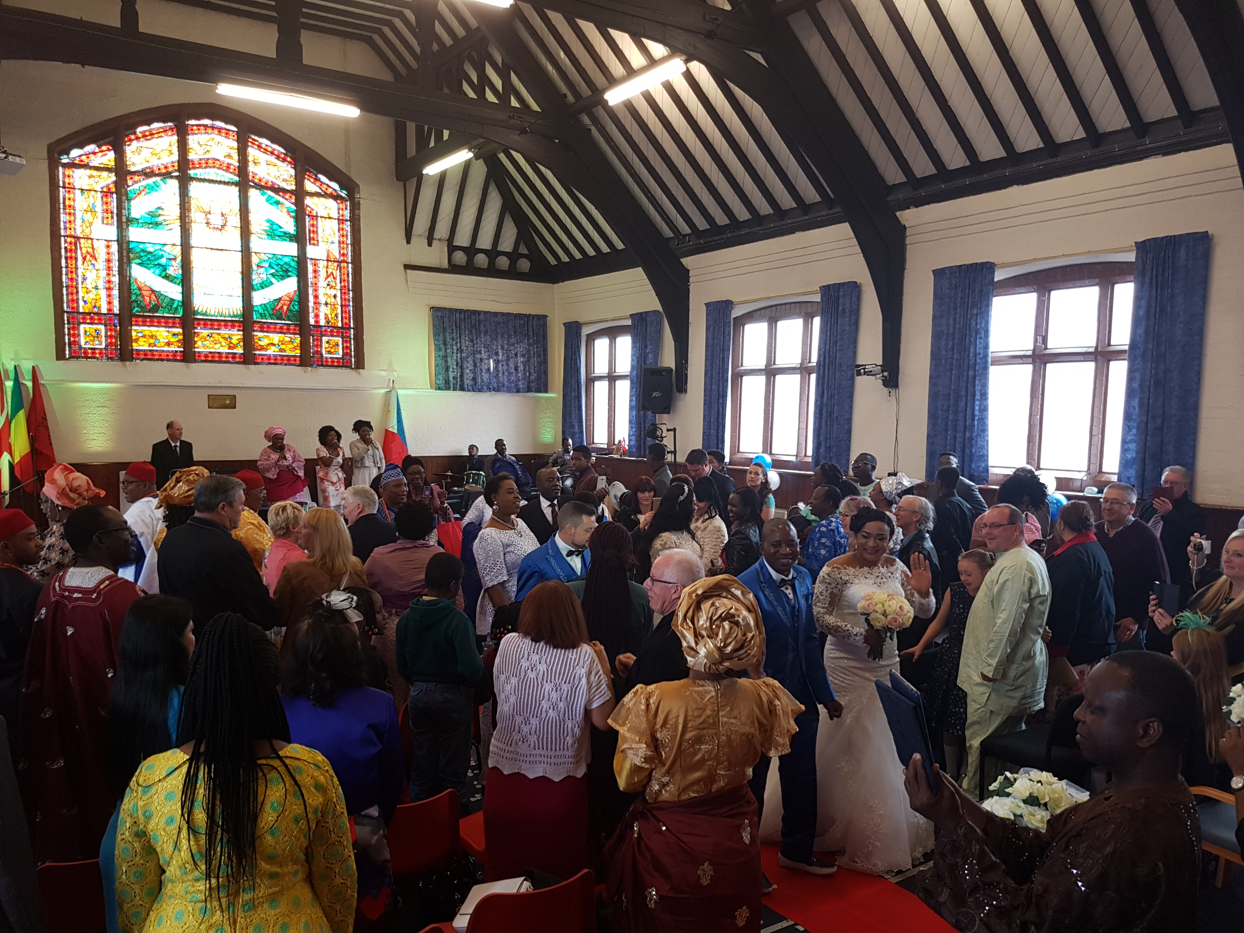 Precious and Kunle's Wedding Blessing!