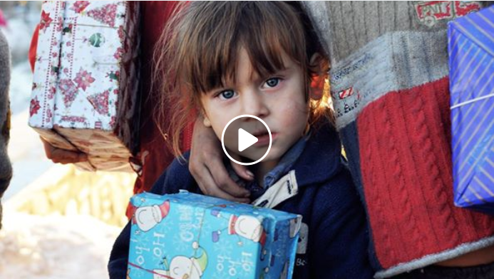 Shoeboxes Arrive in Romania Christmas 2017