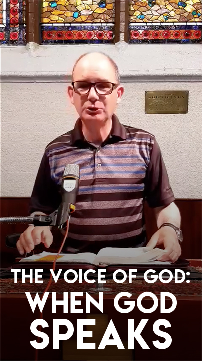 The Voice of God - When God Speaks